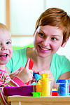 Tagesmutter vs. Kinderkrippe