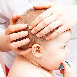 Fontanellen – Warum ist der Kopf meines Babys so weich?