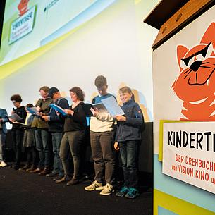 Drehbuchpreis Kindertiger 2021 – Gute Geschichten für Kinder gesucht