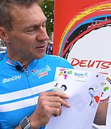 #maldeineminitour - Kreative Kids werden Teil der Deutschland Tour