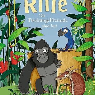 """Kinderbuch-Tipp """"Rille – Die Dschungelfreunde sind los"""""""