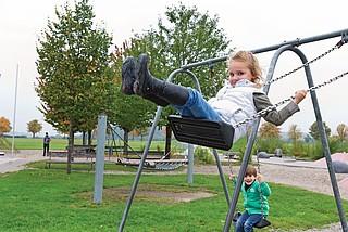Vorsicht bei ungepflegten Spielplätzen