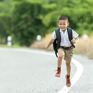Schulwegtraining statt Elterntaxi