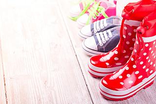 Gut zu Fuß - passende Kinderschuhe