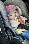 Mit dem Baby im Auto unterwegs