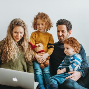 Inspirationsplattform für Familienaktivitäten