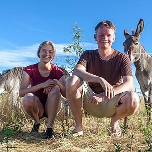 Ferienidee: Saale-Unstrut mit Tieren entdecken