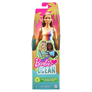 Erste Barbie aus recyceltem Ocean-Bound-Plastik